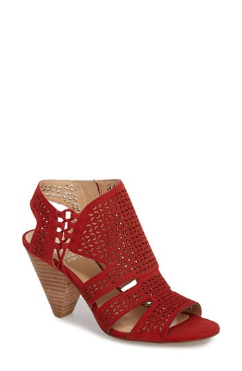 Vince Camuto Esten Perforated Sandal, Red