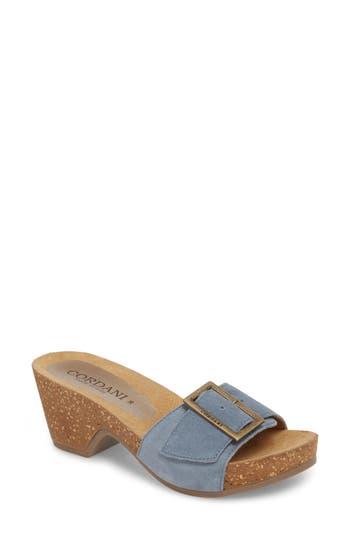 Cordani Arina Slide Sandal - Blue