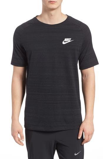 Nike Nsw Av15 Crewneck T-Shirt, Black