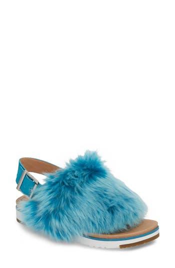 Ugg Holly Genuine Shearling Sandal