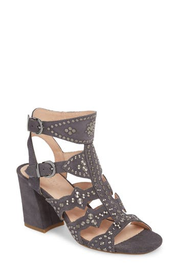 Cecelia New York Cosmo Studded Sandal- Blue