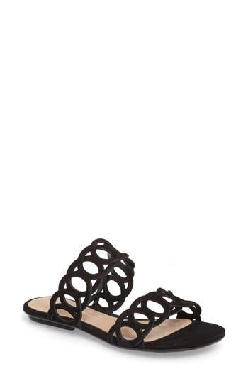 Schutz Yaslin Slide Sandal- Black