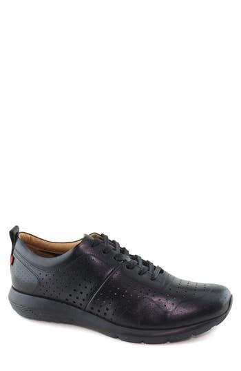 Marc Joseph New York Grand Central Perforated Sneaker- Black