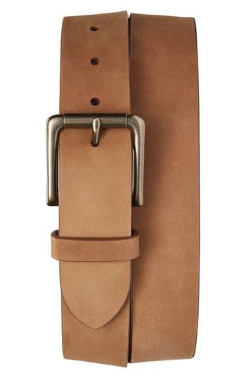 Shinola Outrigger Leather Belt, Light Brown