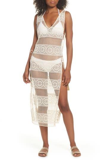 Pilyq Joy Lace Cover-Up Dress, White