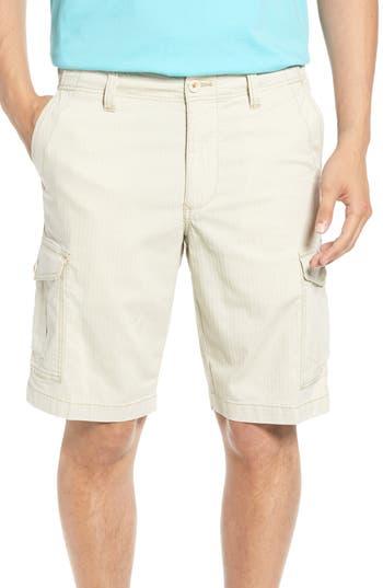 Big & Tall Tommy Bahama Sandbar Ripstop Cargo Shorts, Beige