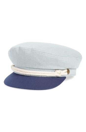 Brixton FIDDLER CAP - BLUE