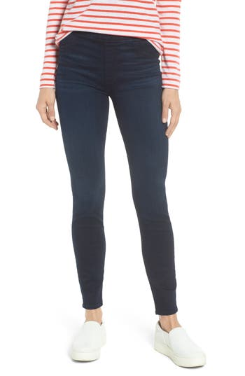 Jen7 Comfort Skinny Denim Leggings, Blue