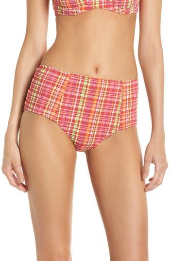 Diane Von Furstenberg True High Waist Bikini Bottoms