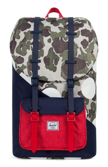 Herschel Supply Co. Little America Kaleidoscope Backpack - Red
