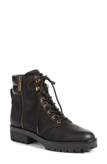 Michael Michael Kors Rosario Combat Boot- Black