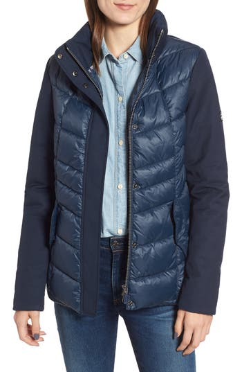 Barbour Hayle Quilted Jacket, US / 8 UK - Blue