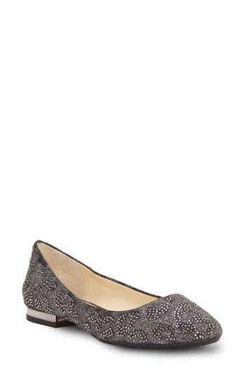 Jessica Simpson Ginelle Beaded Ballet Flat, Grey