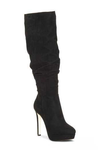 Jessica Simpson Rhysa Knee High Boot- Black