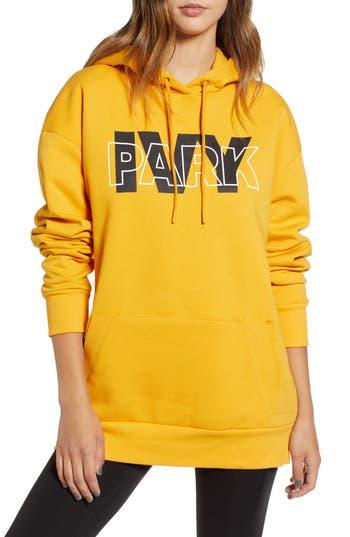 Ivy Park Layered Logo Hoodie, Orange