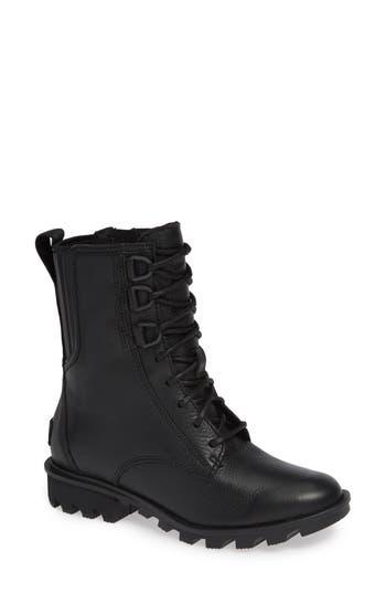 Sorel Phoenix Lace-Up Boot- Black