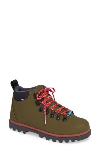 Native Fitzsimmons Treklite Waterproof Boot, Green