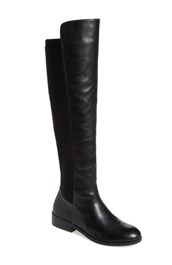 Sole Society Calypso Over The Knee Boot, Black