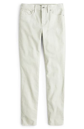 High Rise Toothpick Corduroy Jeans, Stone