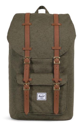 Little America Backpack - Green, Multi