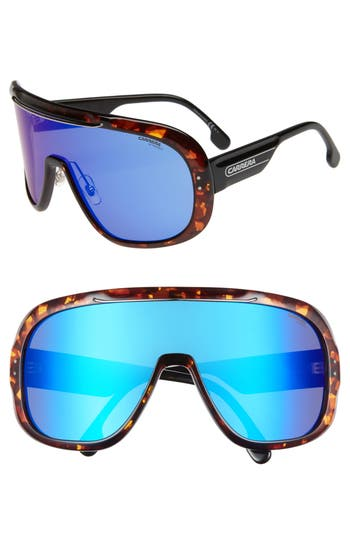 Carrera Eyewear Epica 9m Shield Sunglasses - Dark Havana