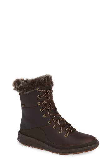 Merrell Tremblant Ezra Waterproof Bootie, Brown