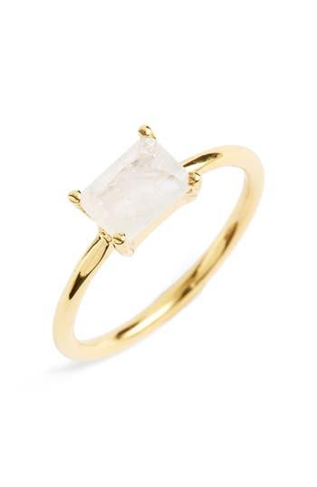 Women's Leah Alexandra Baguette Stone Ring