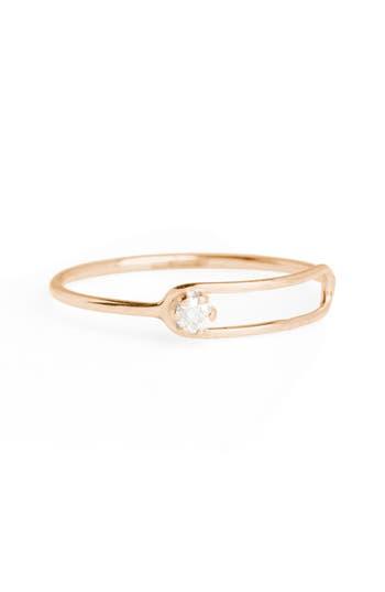 Women's Sarah & Sebastian Nimbus Diamond Oblong Ring