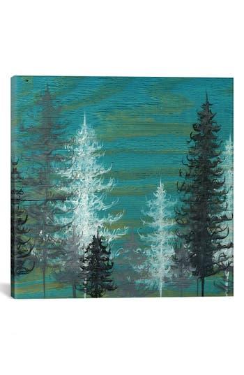 Icanvas 'Teal Trees' Giclee Print Canvas Art