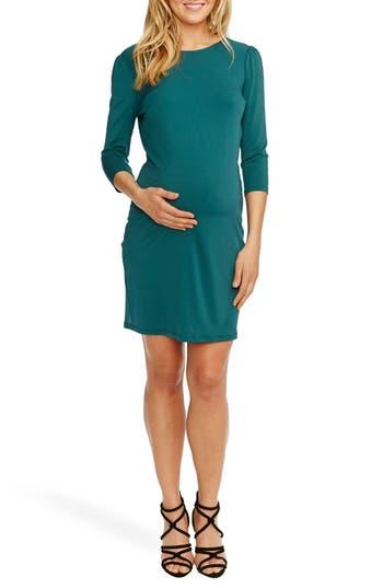 Women's Rosie Pope 'Audra' Maternity Dress, Size X-Small - Blue