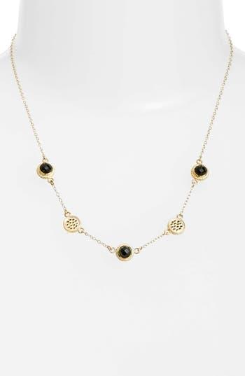 Women's Anna Beck Semiprecious Stone Station Necklace