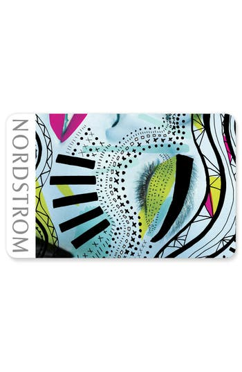 Nordstrom Abstract Beauty Gift Card $100