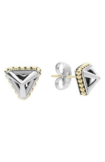 Women's Lagos Ksl Pyramid Stud Earrings