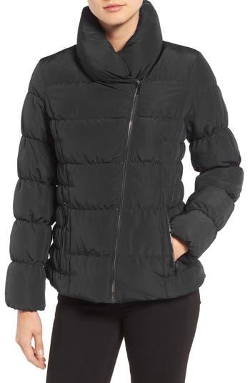 Kenneth Cole Asymmetrical Puffer Jacket