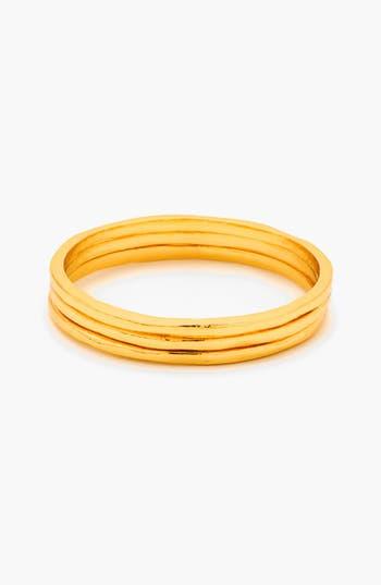Women's Gorjana 'G Ring' Rings (Set Of 3)