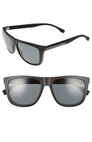 Men's Boss 56Mm Polarized Sunglasses -