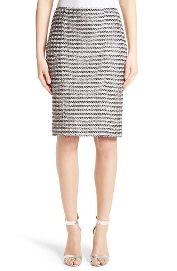 Women's St. John Collection Vany Tweed Knit Pencil Skirt