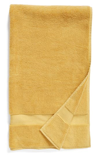 Nordstrom At Home Hydrocotton Bath Towel, Size One Size - Yellow