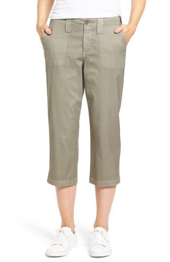 Women's Nydj Stretch Cotton Crop Pants