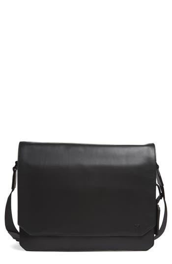 Men's Vince Camuto 'Tolve' Leather Messenger Bag - Black