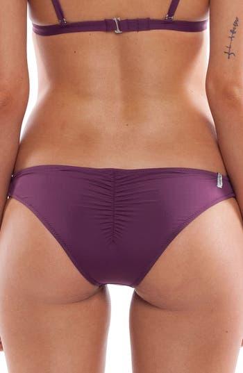 Women's Rhythm My Cheeky Bikini Bottoms, Size Small - Purple