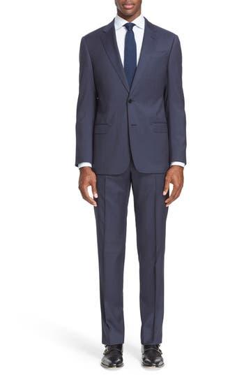 Men's Armani Collezioni Trim Fit Solid Wool Suit