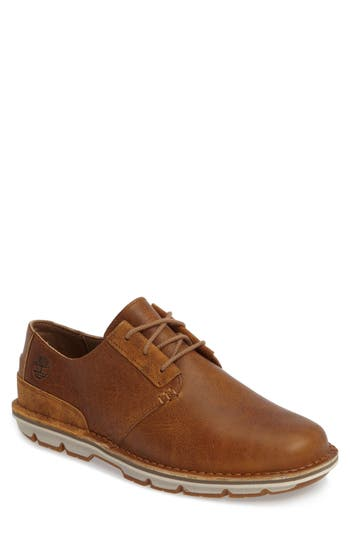 Men's Timberland Coltin Plain Toe Derby, Size 7 M - Brown