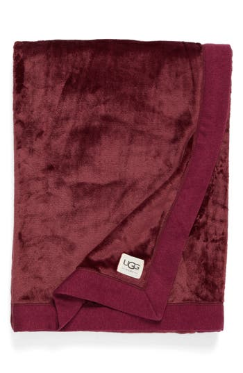 Ugg Duffield Throw, Size One Size - Red