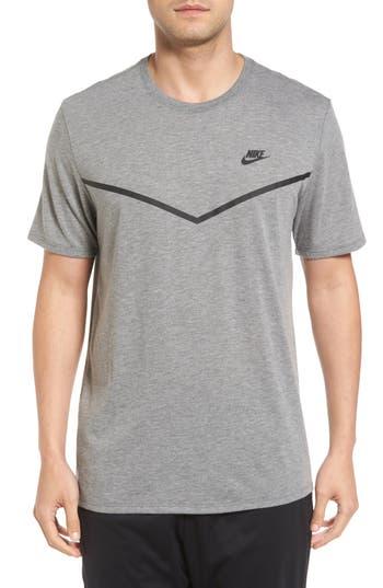 Nike Nsw Tb Tech T-Shirt, Grey