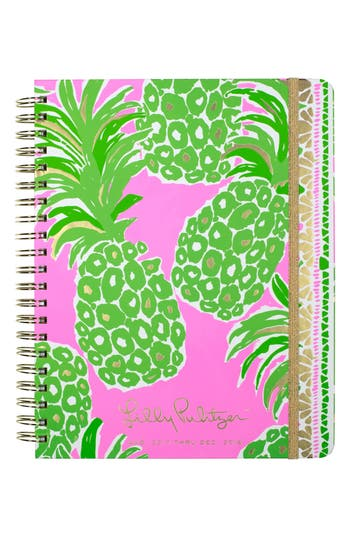 Lilly Pulitzer Jumbo 17-Month Agenda - Pink