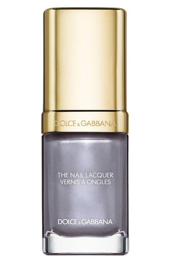Dolce & gabbana Beauty 'The Nail Lacquer' Liquid Nail Lacquer - Baroque Silver 830