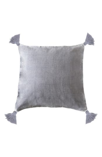 Pom Pom At Home Montauk Tassel Accent Pillow, Size One Size - Blue