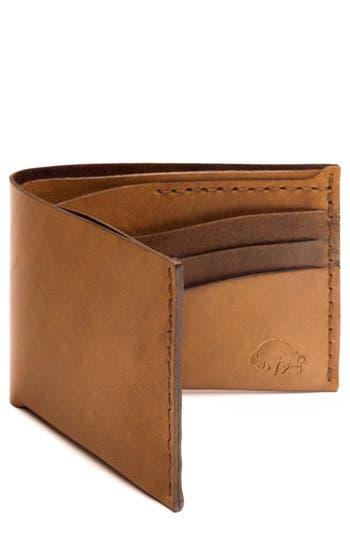 Ezra Arthur No. 8 Leather Wallet - Brown