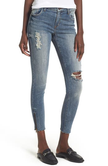 Women's Sts Blue Taylor Zip Detail Skinny Ankle Jeans